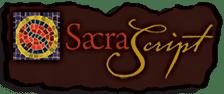 Sacra Script Logo